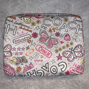 Vintage Coach Laptop Case